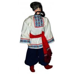 Doll handmade copyright Galina Maslennikova A1-8-1 Ykrainskay Kiev area