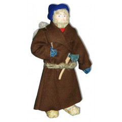 Doll handmade copyright Galina Maslennikova A2-17 Man in armayk