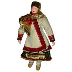 Doll handmade copyright Galina Maslennikova A1-18-1 Tambov area