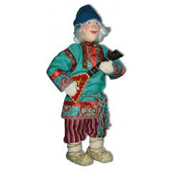 Doll handmade copyright Galina Maslennikova A2-6-1 Fedia with balalayka