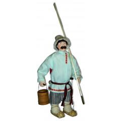 Doll handmade copyright Galina Maslennikova A2-21-1 Fisherman