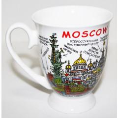 Brelok 067-P-18 Moscow guide