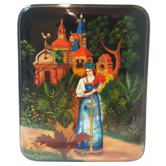 Lacquer Box Scarlet flower