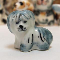 Majolica Dog Bolonka
