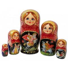 Nesting doll 5 pcs. 7916