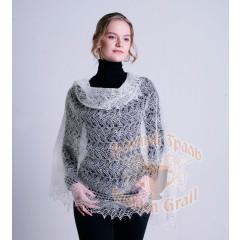 Pavlovo Posad Shawl The Orenburg Shawl shawl white 150 h 100