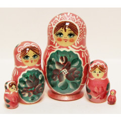 Nesting doll Sergiev-Posad 5 pcs. akril 35