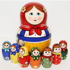 Nesting doll Traditional traditional, 7 pcs.