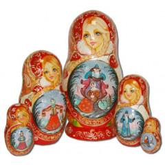 Nesting doll 5 pcs. Morozko 25B