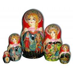 Nesting doll 5 pcs. Perov