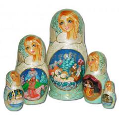 Nesting doll 5 pcs. Morozko B