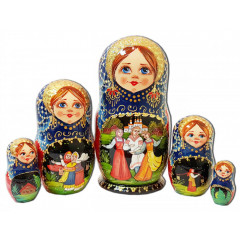 Nesting doll 5 pcs. 7915