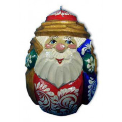 New Year and Christmas christmas tree toy Egg Santa Claus