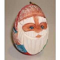 New Year and Christmas christmas tree toy Egg shape Santa