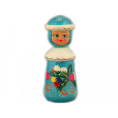 New Year and Christmas christmas tree toy Miss Santa