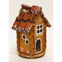 New Year and Christmas christmas tree toy House