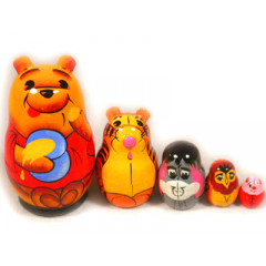 Nesting doll Disney Vinni the Pooh small