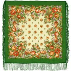 Pavlovo Posad Shawl Pavlovoposadsky with wool fringe 89 x 89 1387-9 The southerner