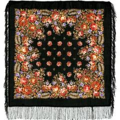 Pavlovo Posad Shawl Pavlovo Posad with wool fringe 89 x 89 1387-18 The southerner