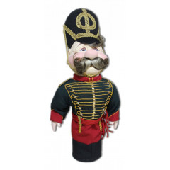 Doll handmade bar hussars