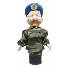 Doll handmade bar paratrooper