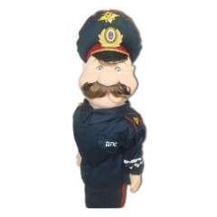 Doll handmade bar DPS officer