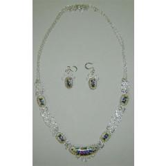 Enamel necklace Necklace the Dawn