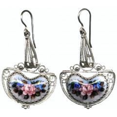 Enamel earrings Earings Stranger