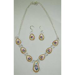 Enamel necklace Necklace Lira