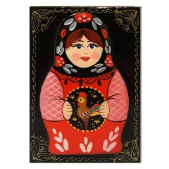Lacquer Box Matreshka