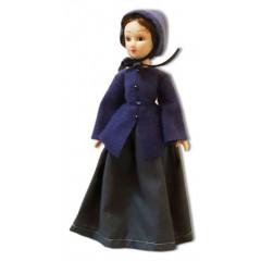 Doll handmade porcelain Jane Eyre