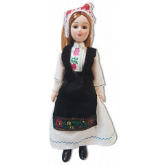 Doll handmade porcelain Ukrainian outfit