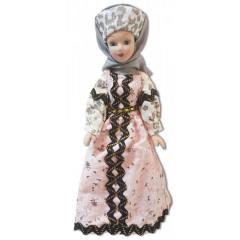 Doll handmade porcelain Ural Cossack