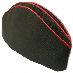 Headdress The soldier's forage cap Soviet officer without badges