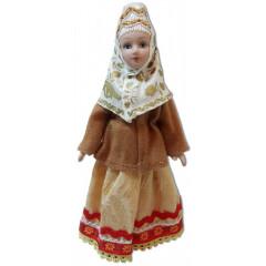 Doll handmade porcelain Arkhangelsk province