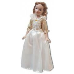 Doll handmade porcelain classic suit 60-ies
