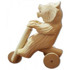 Bogorodskaya toy Bear-motocyclist