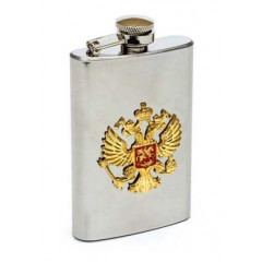Flask metal The arms of Russia
