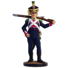 Tin soldier The Napoleonic wars The Voltigeurs of the 8th infantry regiment. Poland, 1808-10.