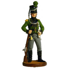 Tin soldier The Napoleonic wars A non-commissioned officer of the Royal Life-chasseur Corps. Denmark, 1806-14.