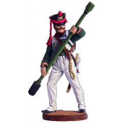 Tin soldier The Napoleonic wars Scorer (1 room) walking distance from army artillery. Russia, 1809-14.