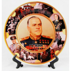 Plate Zhukov G. K.