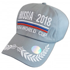 Headdress Baseball cap grey, World Cup 2018, Russia