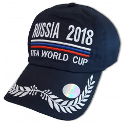 Headdress Baseball cap durk blue, World Cup 2018, Russia