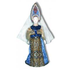 Doll handmade average AF-37 In a national costume