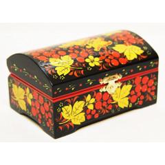 Khokhloma gift box 14 h 9 h 6