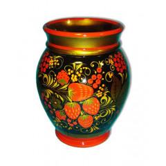 Khokhloma for food Vase 170x130
