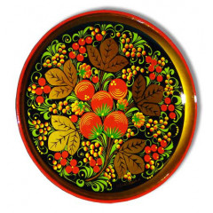 Khokhloma for food Plate-panel 210h21