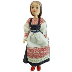Doll handmade porcelain maiden costume Komi