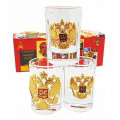 Ware the set of stacks with symbols of the Russian Federation, (3 pieces set)